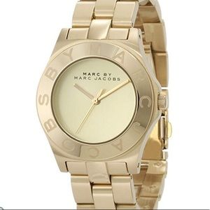Marc by Marc Jacobs gold Ladies watch MBM3126